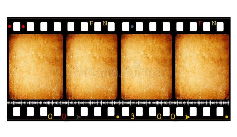 35影片mm电影卷轴 向量例证