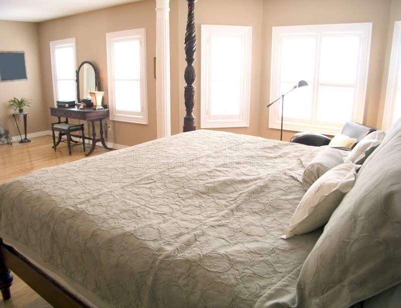 35间卧室重要资料 免版税库存照片