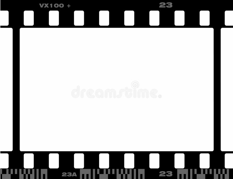 35 кадр mm иллюстрация штока