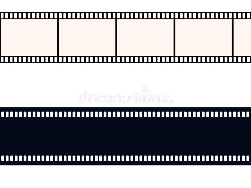 35 пленка mm иллюстрация штока