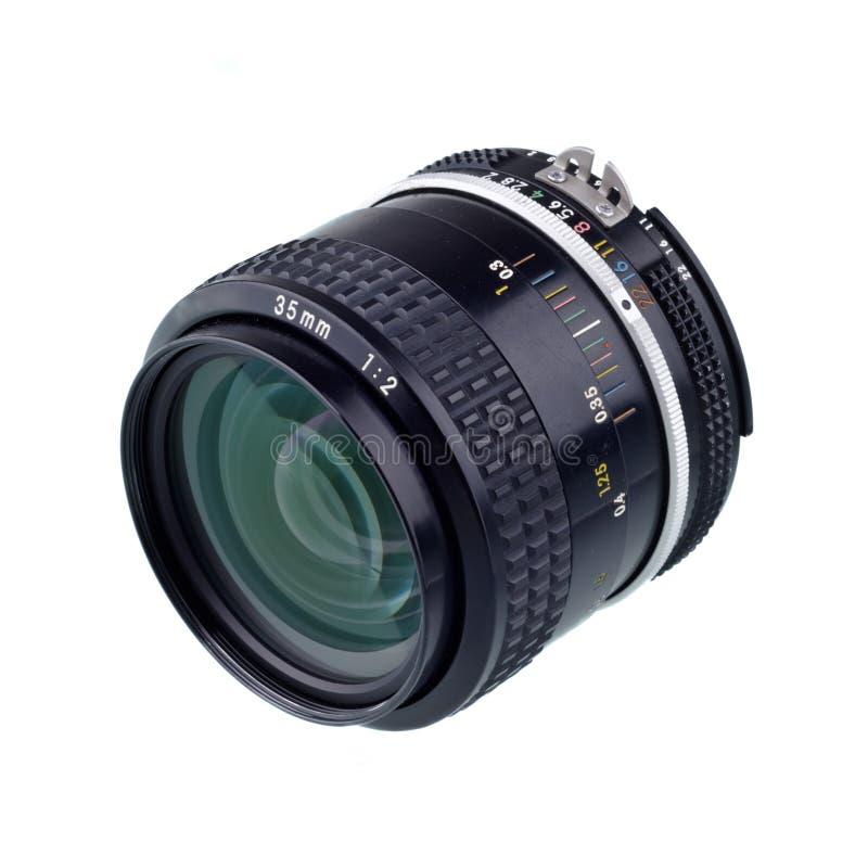 35 millimètres de lense d'appareil-photo photo libre de droits