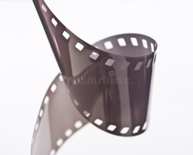 35 mm film. On white stock photos