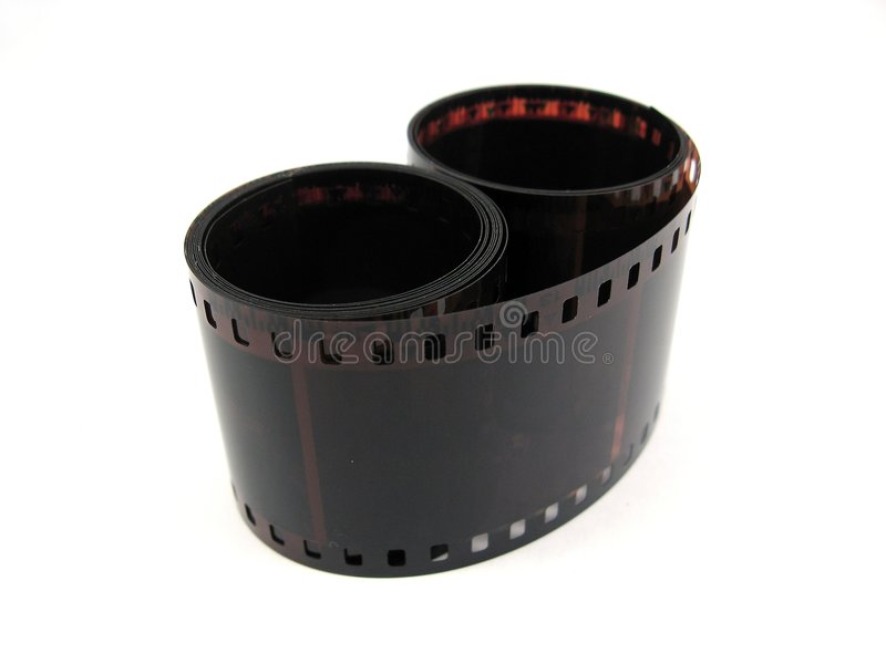 35 mm film stock images