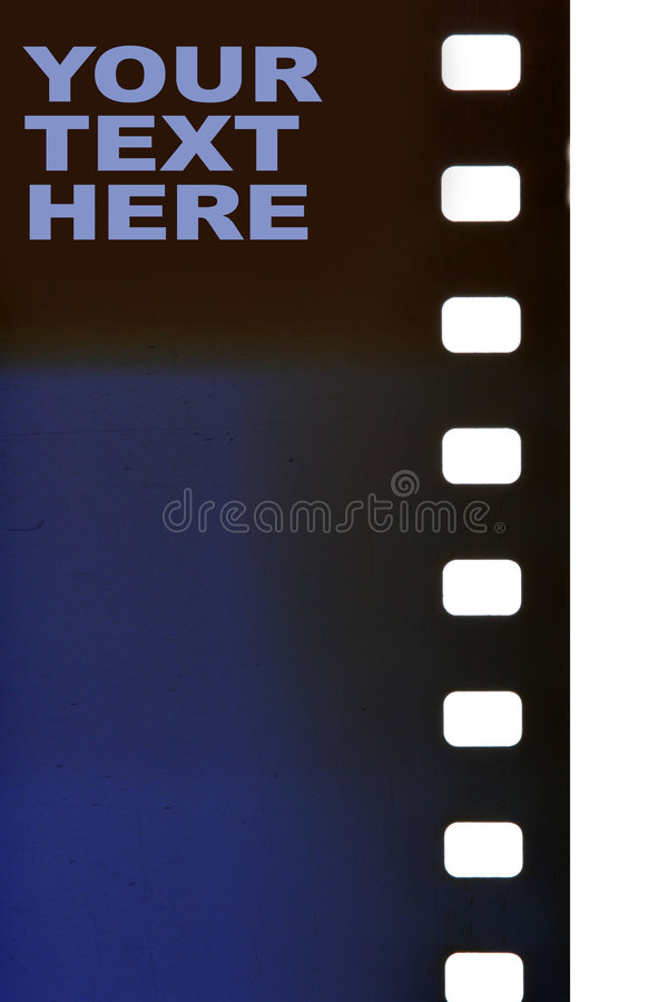 35 mm film. Close-up with space for your own text stock images