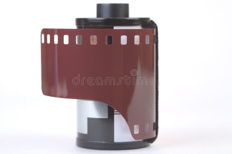 35 mm film, isolated. On white background stock image