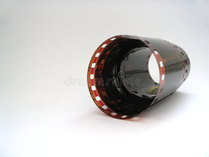 Download 35'mm film roll stock photo. Image of around, film, blank - 199358