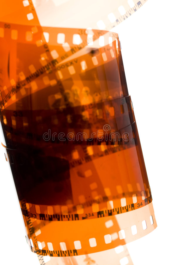 35 mm film strip stock photography