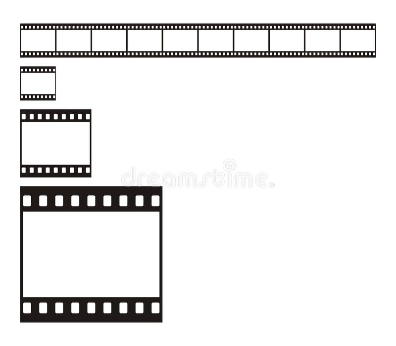 Download 35 mm Film Stripe stock illustration. Image of document - 9519014