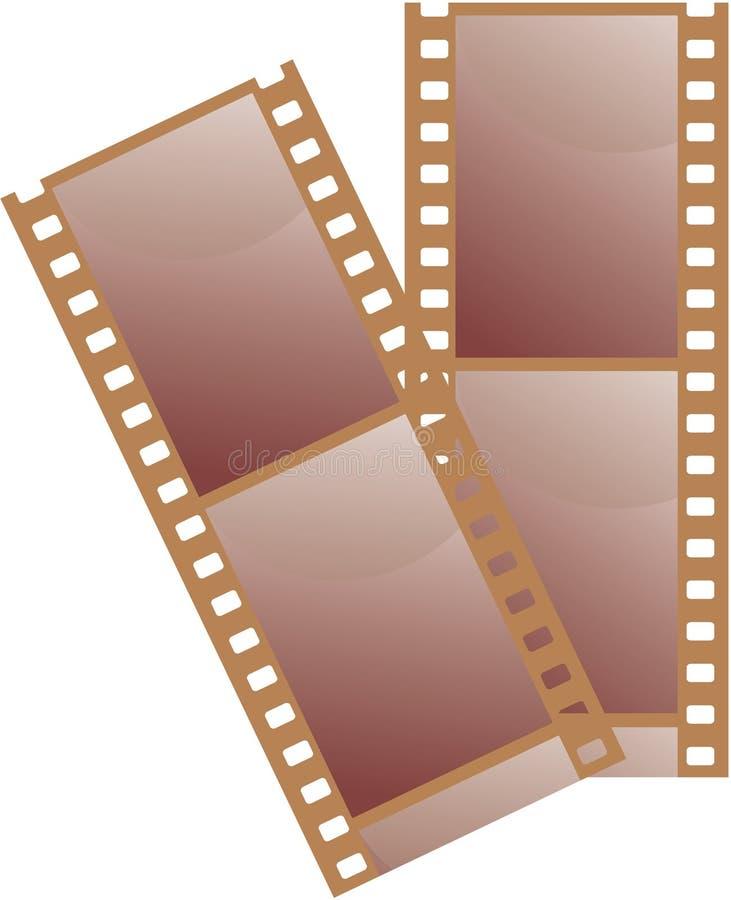 35 mm filmowych royalty ilustracja