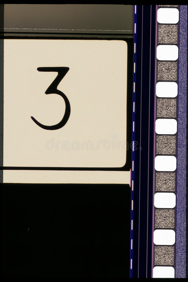 35 mm filmowych projektów zdjęcie stock