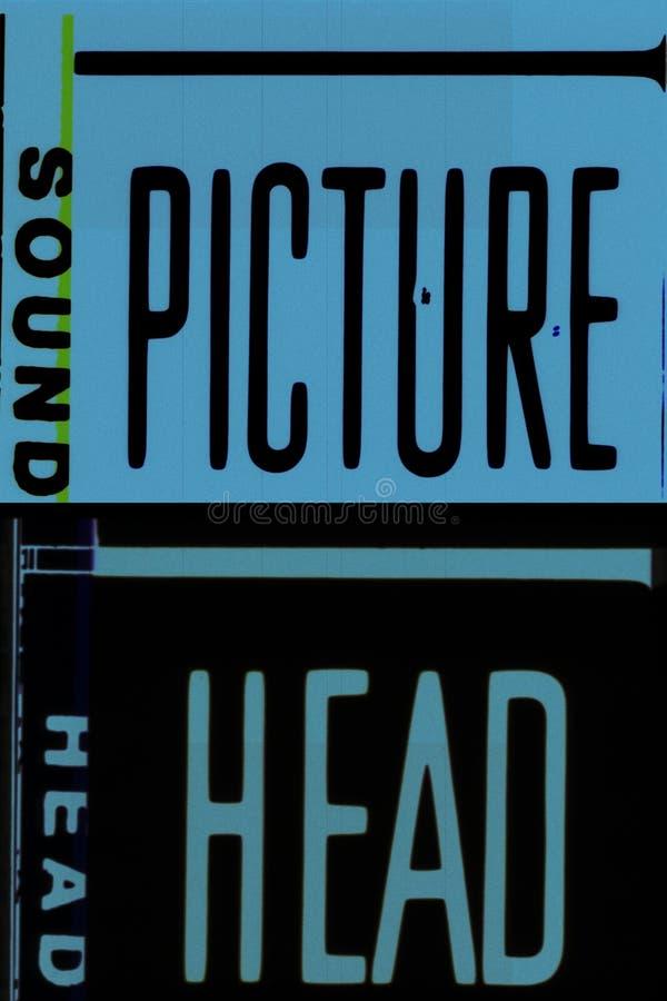 35 mm filmowych projektów fotografia stock