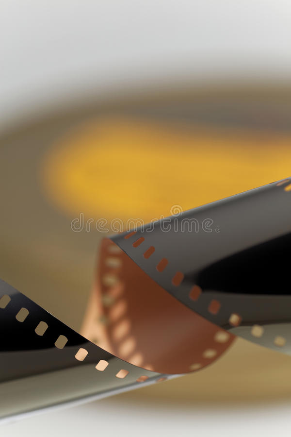 35 mm Motion Picture Film stock image