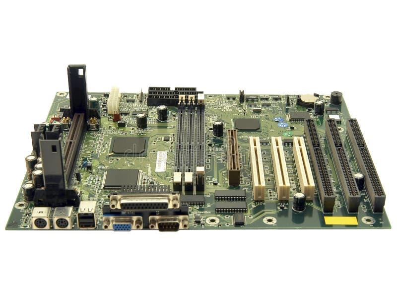 计算机mainboard 库存照片