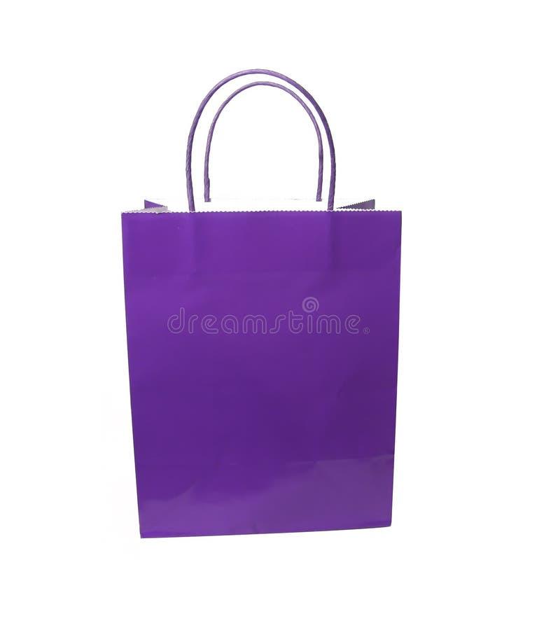 请求礼品紫色 免版税库存照片