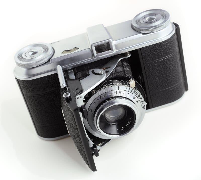 35mm古色古香的照相机影片 免版税库存图片