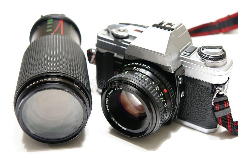35mm照相机 库存图片