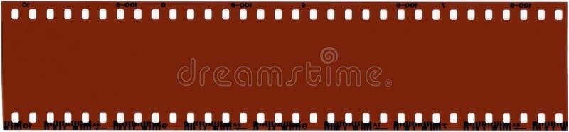 35mm空白影片 免版税库存照片