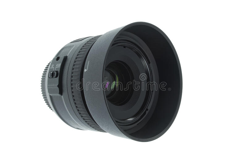 Download A 35mm camera lens stock image. Image of professional - 22981251