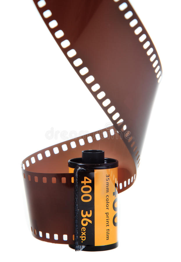 Download 35mm Classic Negative Film Roll Isolated Stock Photo - Image of photography, retro: 18759474