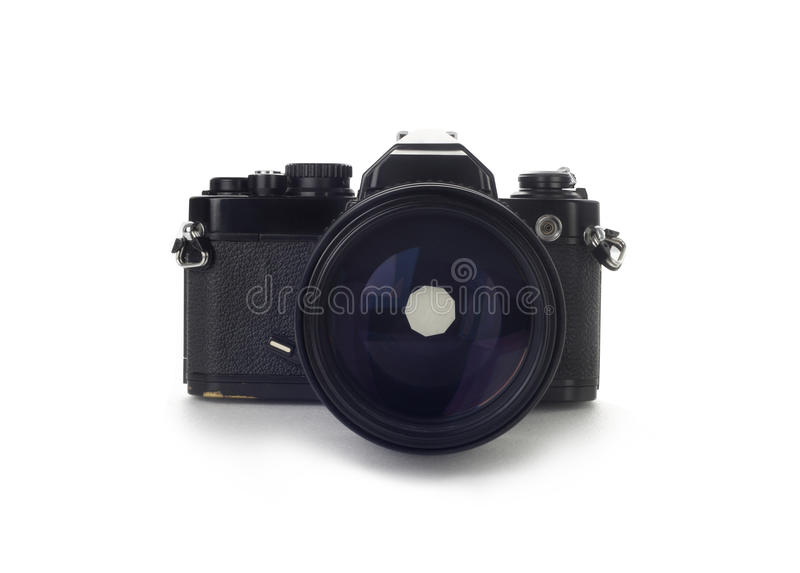 35mm czarny kamery stary slr zdjęcia royalty free