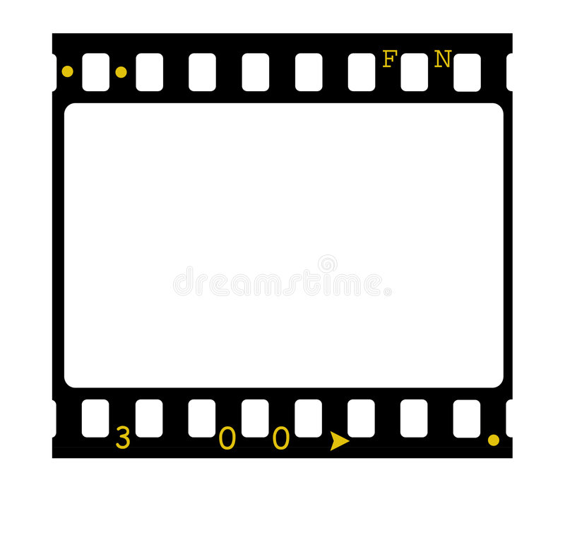 35mm diaframe stock illustratie