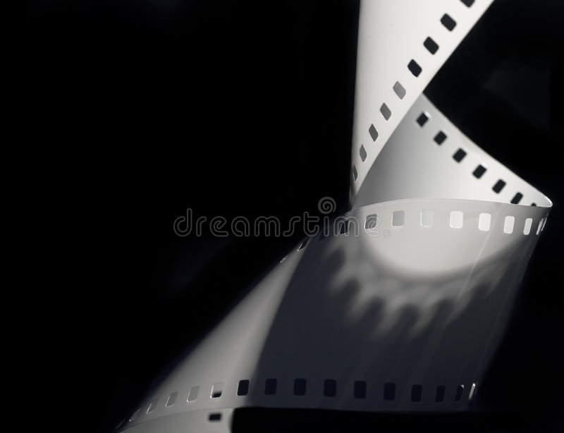 Download 35mm film. stock image. Image of background, closeup, curling - 4334725