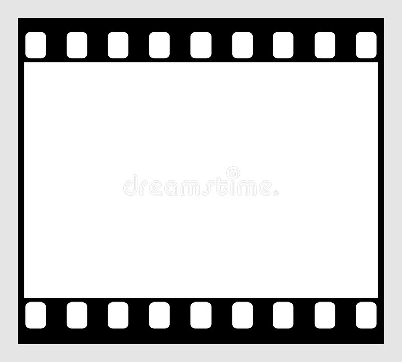 35mm Film Strip. Horizontal format