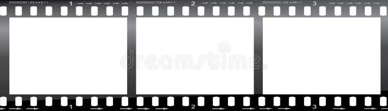 35mm film strip stock illustration