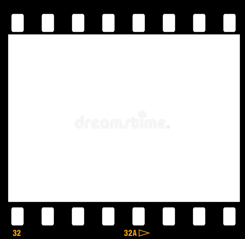 35mm Film Strip Frame Frames Stock Vector - Illustration of ...