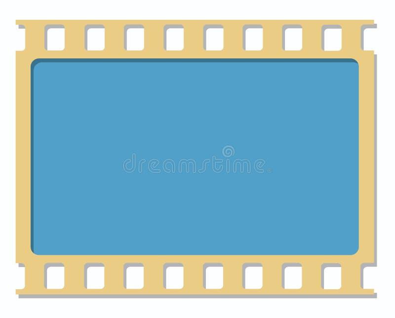 35mm filmkader royalty-vrije stock afbeelding