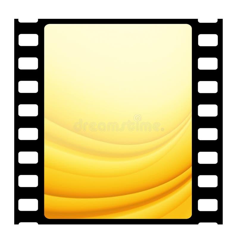 35mm filmframe stock illustratie