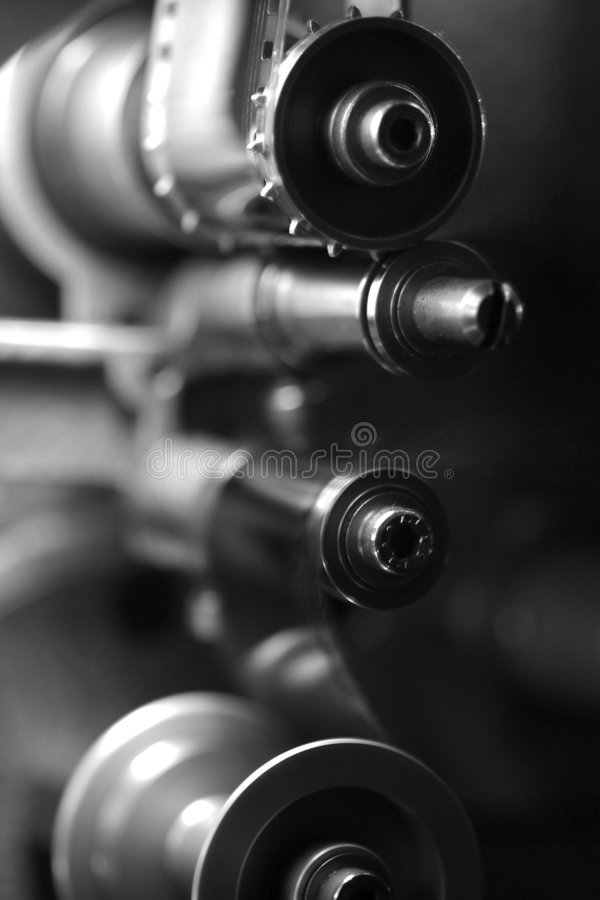 Download 35mm Movie Projector Sprocket Royalty Free Stock Photography - Image: 1433417
