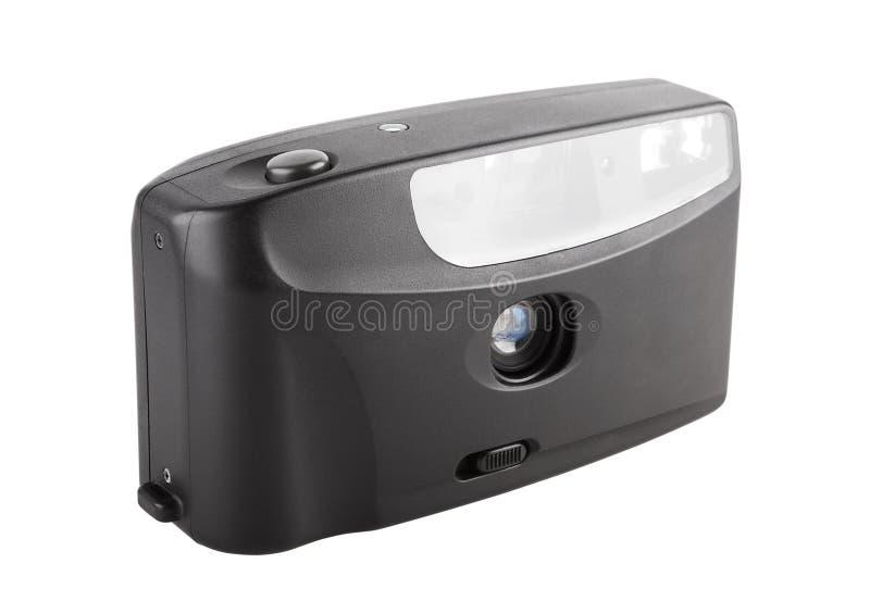 35mm photographiques tenus dans la main filment l'appareil-photo photos libres de droits