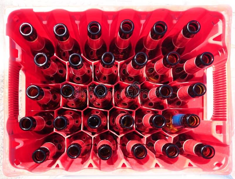 36 botellas foto de archivo libre de regalías