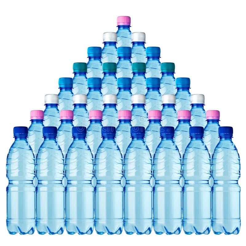 36 Bottles Stock Photography