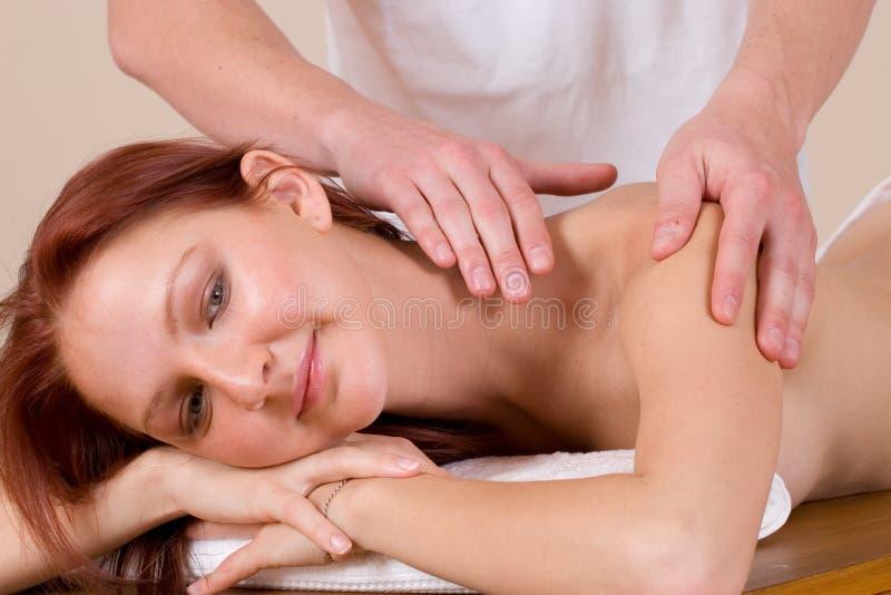 36 masaż. fotografia stock