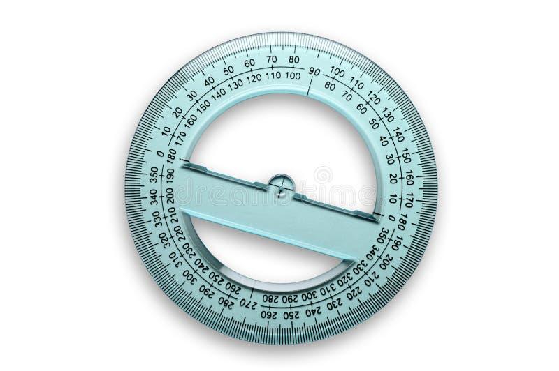 360度分度器 图库摄影