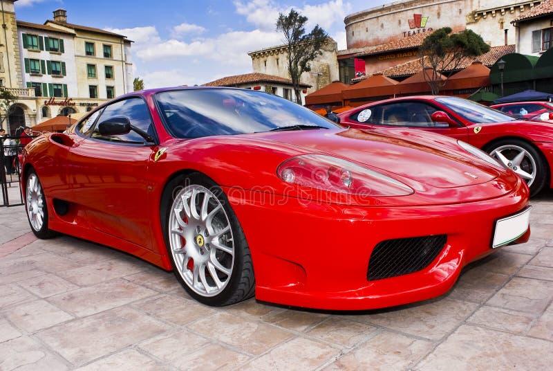 360 dzień Ferrari Modena przedstawienie obrazy stock