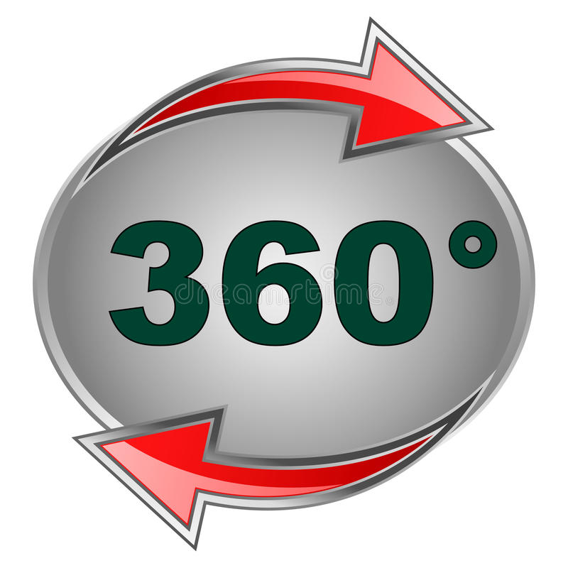 Free 360 Sign Royalty Free Stock Photography - 18622187