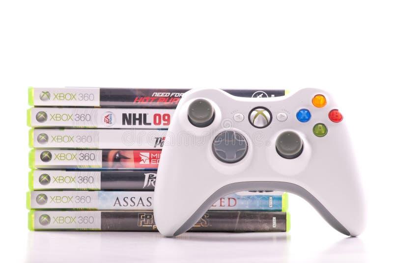 360 xbox Microsoft zdjęcia stock