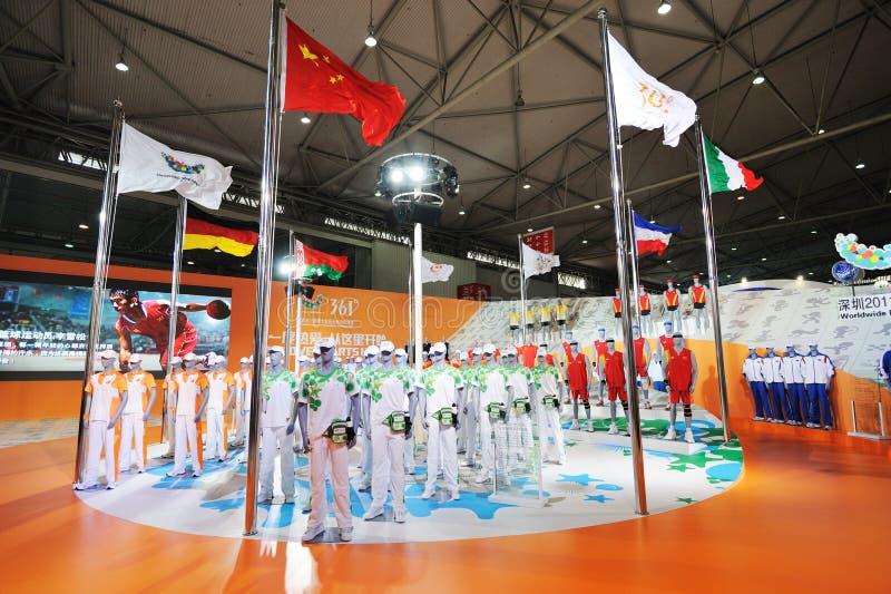 361 carrinho, uniforme oficial do Universiade 2011 fotos de stock