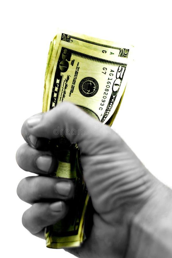 货币运行作为 库存图片