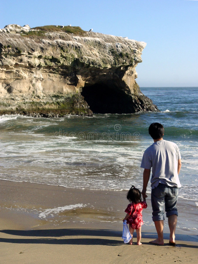 跨接自然的加州 免版税库存图片