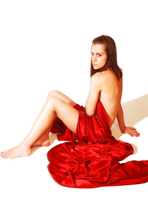 37个裸体妇女年轻人 免版税库存照片