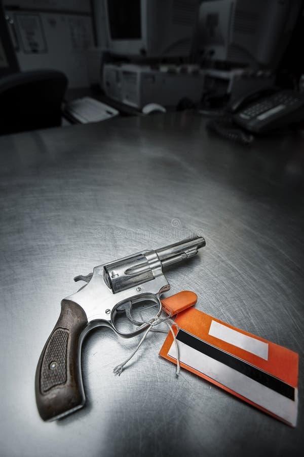 38把手枪左轮手枪特殊 免版税库存图片