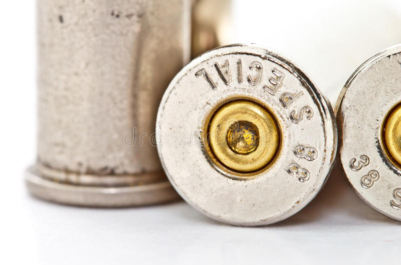 Download .38 special bullet shells stock image. Image of military - 23915227