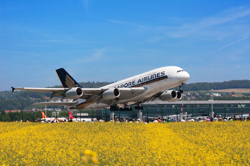 A-380 Editorial Stock Image