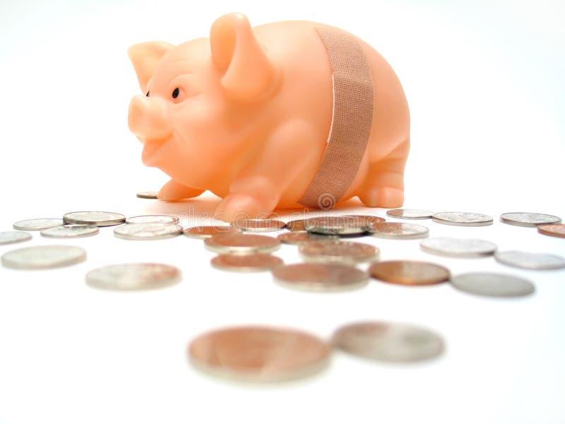 银行中断 免版税库存图片