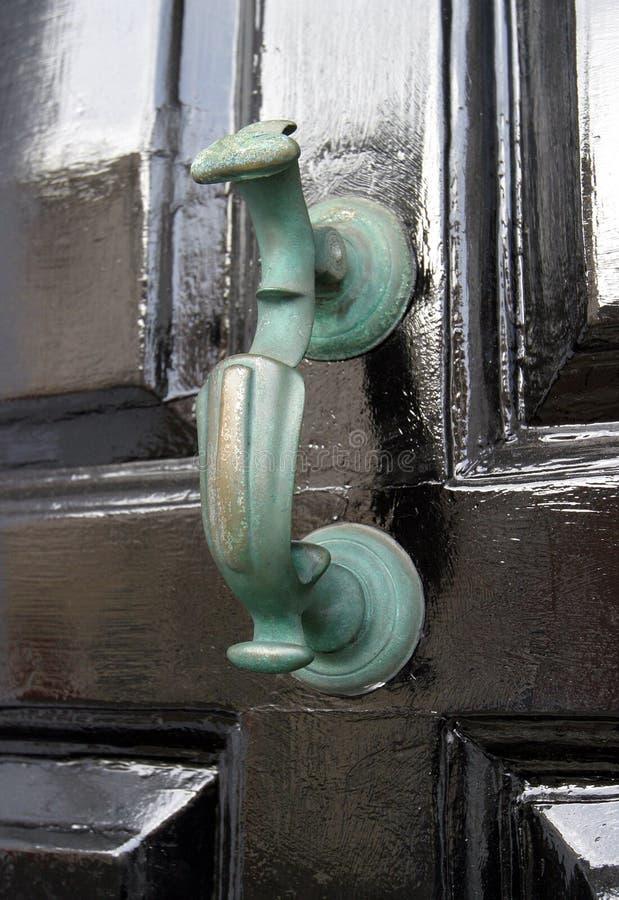 门英王乔治一世至三世时期敲门人 免版税库存照片