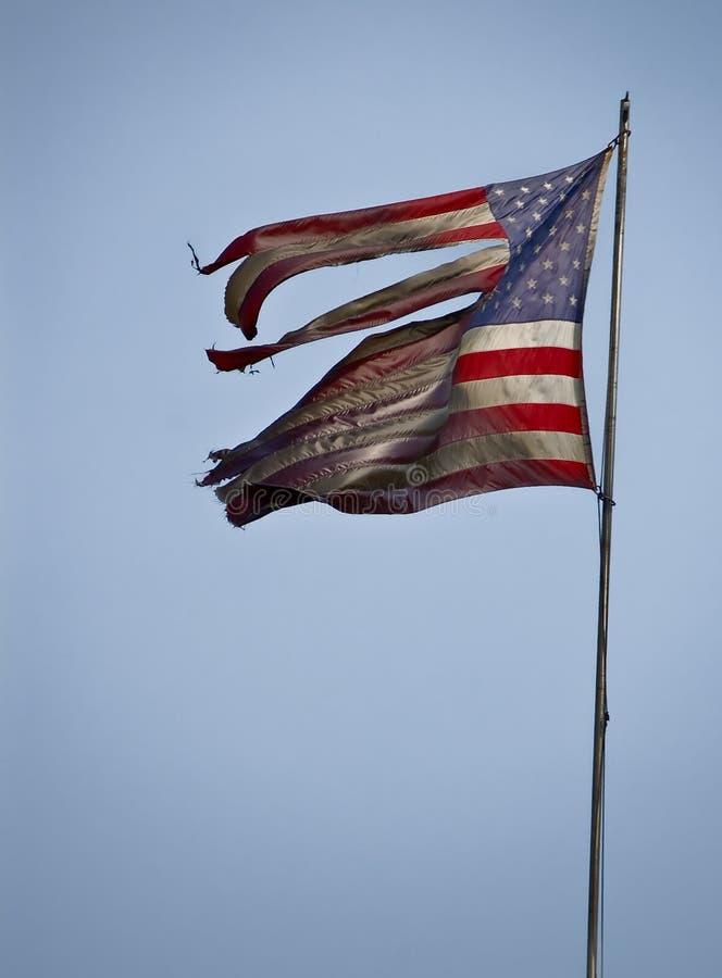 3907 svärtad flagga arkivfoton